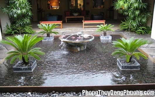 dai phun nuoc 10 Phong thủy bố trí đài phun nước