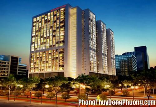 ho guom plaza Chọn hướng tốt cho căn hộ chug cư