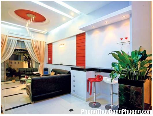 phong thuy chung cu Hóa giải sát khí cho xà nhà trong căn hộ chung cư