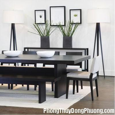 a1 Lựa chọn hình dáng và vị trí đặt bàn ăn theo phong thủy