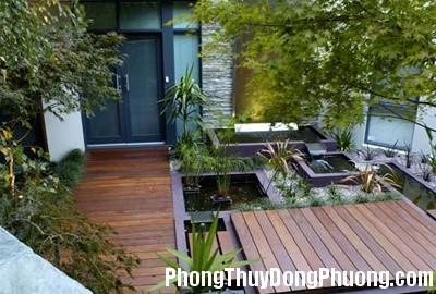 anh11 Phong Thuỷ bố trí tiểu cảnh trong sân vườn