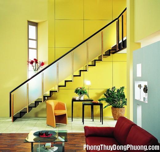 anh13 Cầu thang tránh đặt giữa nhà