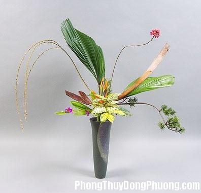 hoadao1157a Phong thủy cắm hoa tươi trong nhà