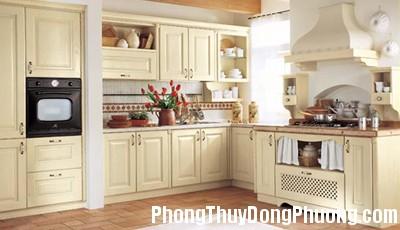 kitchen auction Phong thủy bài trí lối đi trong bếp