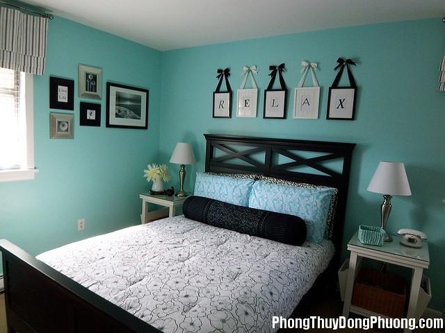 nguyen tac bai tri1 Cách bài trí giường ngủ theo mệnh