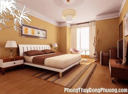 nguyen tac bai tri5 Cách bài trí giường ngủ theo mệnh