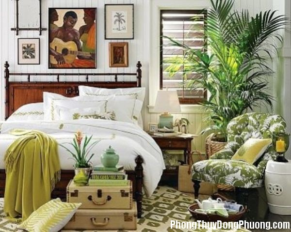 phong thuy ung dung1 Phong thủy trong phòng ngủ
