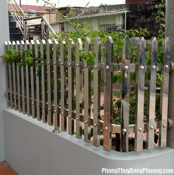 tuong rao 4 Tường rào hợp phong thủy