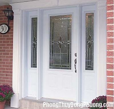 white1 Chọn màu sắc cửa chính theo hướng nhà