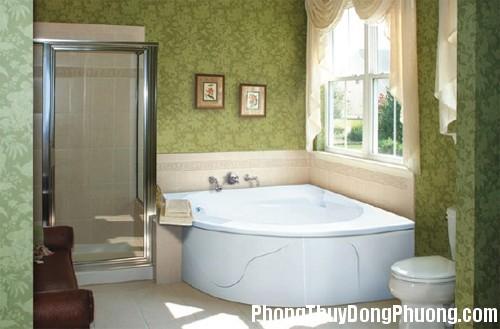 28 Những nguyên tắc  phong thủy trong bố trí phòng tắm