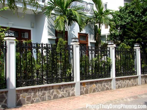 983 05 Phong thủy cho tường rào nhà ở