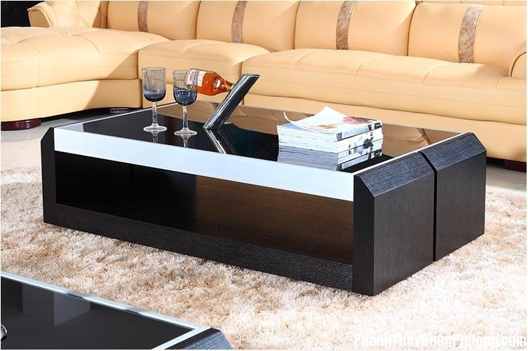 ban tra 18 Trong phòng khách có nên bố trí bàn trà lớn?
