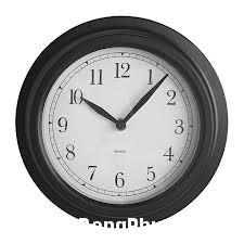 images Phong thủy treo đồng hồ