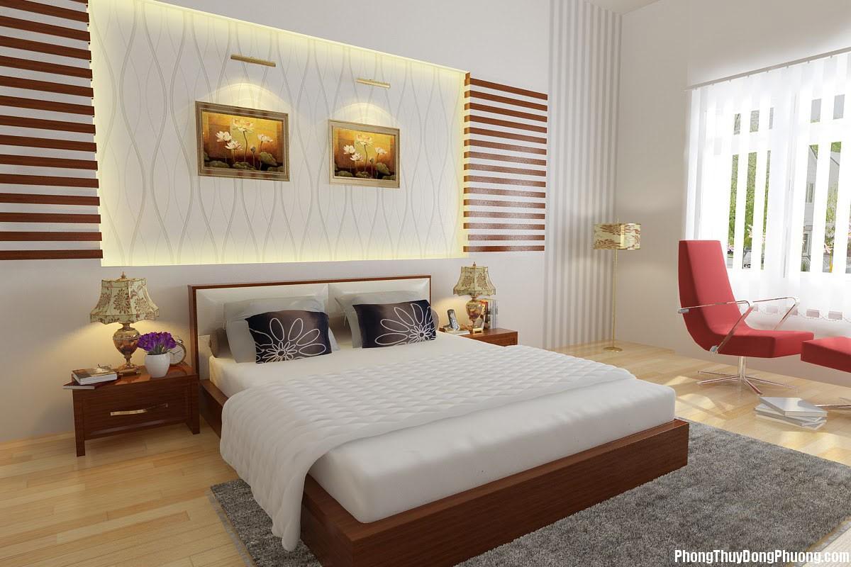 ngaynayphongthuyvochong2 Phong thủy phòng ngủ giúp thư giãn