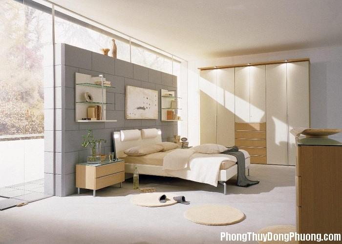 phong thuy pn3 Cửa phòng ngủ hợp phong thủy