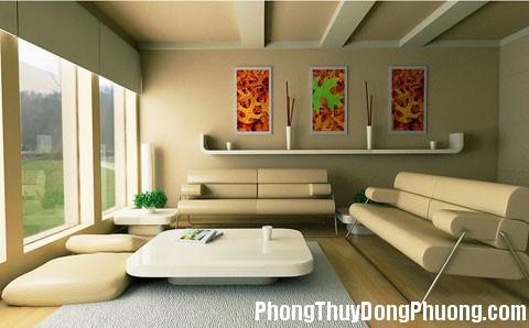 phongthuyphongkhach3 Mẹo bố trí phòng khách đem lại tài vượng