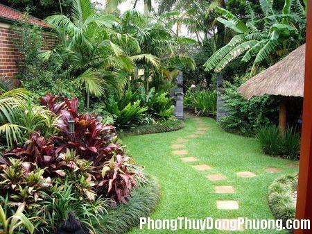 thiet ke san vuon3 Nguyên tắc thiết kế sân vườn đẹp hợp phong thủy