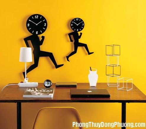 19 Trang tri nha bang dong ho treo tuong Chọn phương vị treo đồng hồ theo mệnh