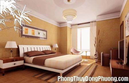 2705 giuongvochong2 Bố trí phòng ngủ vợ chồng hợp phong thủy