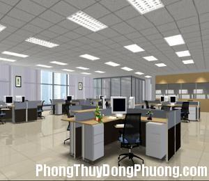 2945 phong thuy van phong Bố trí cân đối các vật dụng trong phòng làm việc