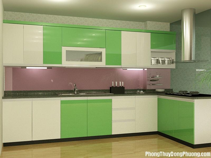 tu bep go xoan dao tay bac 1 Nên chọn màu sắc gì khi sơn bếp ?