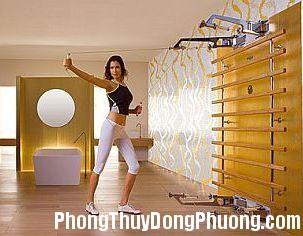 2394 ttd Chọn màu sắc cho phòng tập thể dục tại nhà
