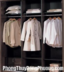 2526 tudo Bài trí sắp xếp tủ quần áo theo phong thủy