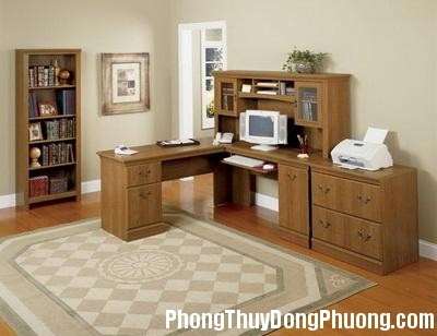 2592 banlamviec3 Phong thủy tốt cho khu vực văn phòng