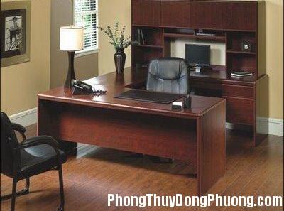 2592 banlamviec5 Phong thủy tốt cho khu vực văn phòng