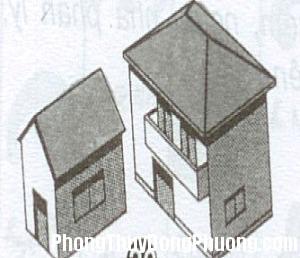 2028 kieunha1 Đoán cát hung của gia chủ qua kiểu nhà ở