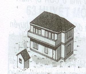 2028 kieunha3 Đoán cát hung của gia chủ qua kiểu nhà ở