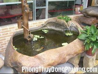 2246 honnonbo0 Xây hồ nước và hòn non bộ trong nhà hợp phong thủy
