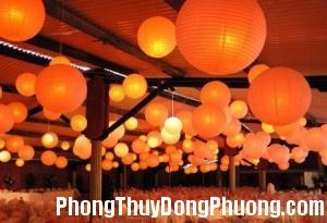 2431 denlong1 Vai trò của đèn lồng giấy trong phong thủy