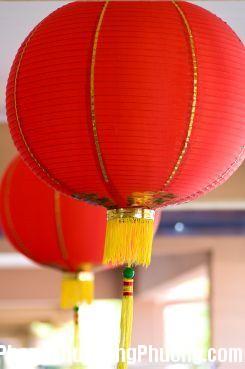 2431 denlong2 Vai trò của đèn lồng giấy trong phong thủy