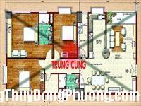 2436 trungcung Phần trung cung của căn hộ trong phong thủy