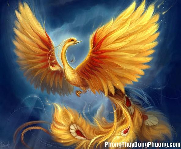 5 11 2013 chim phuong hoang Hai biểu tượng phong thủy cho người độc thân