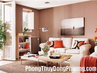 chonmauchongoinhatheophongthuy4 Cách chọn màu nhà ở hợp phong thủy