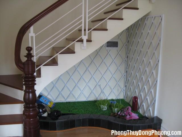 gam cau thang Tiếp khí và dẫn khí ở cầu thang