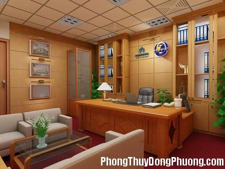 phonggiamdoc1 Phong thủy cho phòng làm việc của sếp