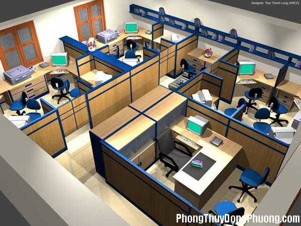 vp111 Những nguyên tắc phong thủy đối với văn phòng