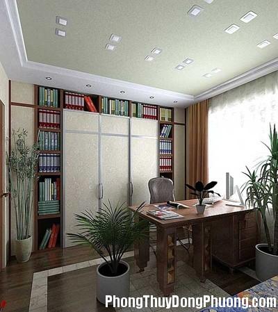 1phongthuyphonglamviec2 437364 1388973218 Bố trí phòng đọc sách hợp phong thủy