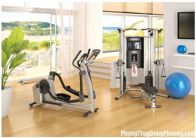 603086 Bố trí phong thủy cho phòng tập thể dục