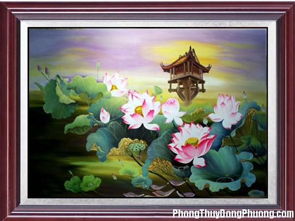 Tranh hoa 92 Lợi ích của việc bố trí tranh trong nhà hợp phong thủy