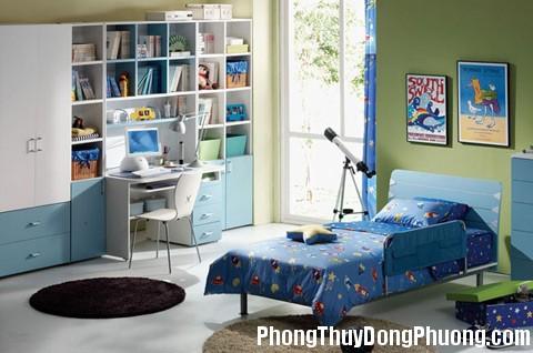 anh04 279923 1388972427 Lựa chọn màu sắc cho phòng ngủ trẻ em theo phong thủy