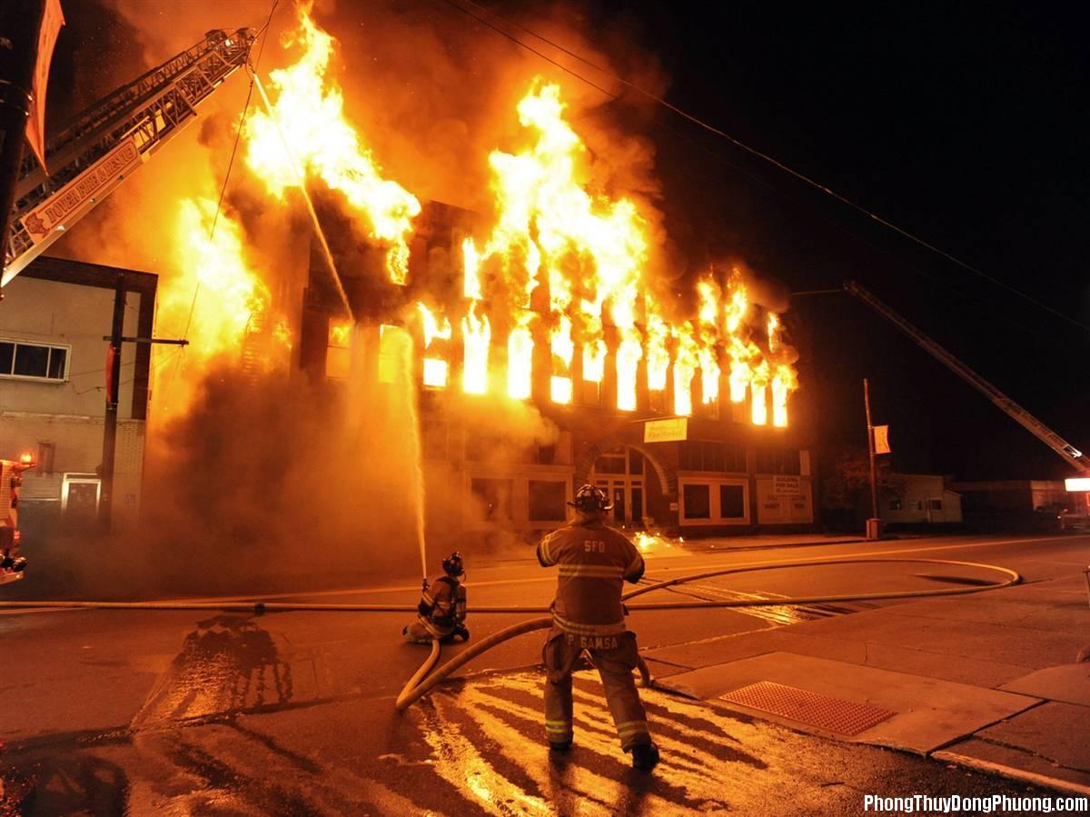 chay nha Giải mã các bí ẩn giấc mơ thấy vụ cháy nhà