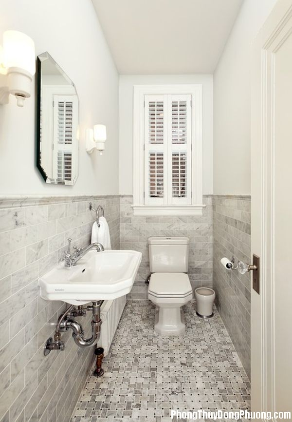 Bathroom 5 Cách sắp xếp vật dụng phòng tắm hợp phong thủy