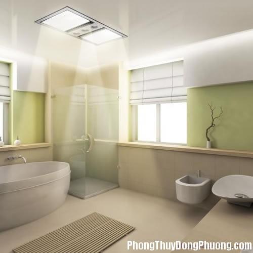 phongthuyphongtamva5loikhuyenboich Bí quyết bố trí phòng tắm vừa đẹp vừa hợp phong thủy