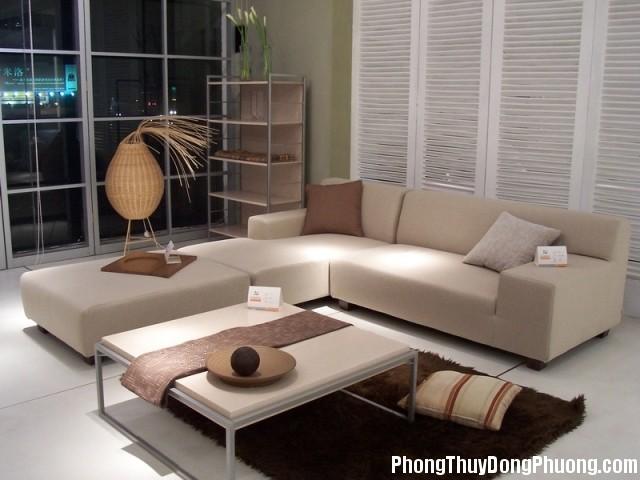 sofa phong khach 1 Cách sắp xếp sofa đẹp và hợp phong thủy