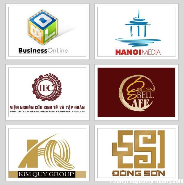 thiet ke logo theo phong thuy Thiết kế Logo cho công ty hợp phong thủy