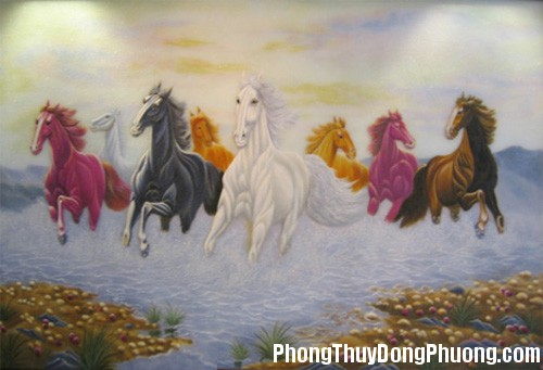 75 1142932230 Bài trí biểu tượng ngựa trong nhà để tài lộc sinh sôi
